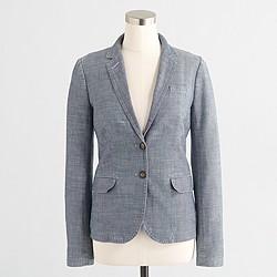 Factory chambray blazer