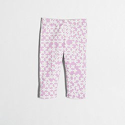 Factory girls' clover capri leggings