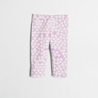 Girls' clover capri leggings