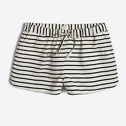 "3"" striped drawstring short"