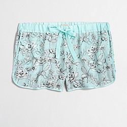 Factory floral sleep short