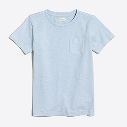 Kids' sunwashed garment-dyed pocket T-shirt