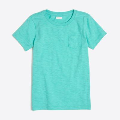Kids' sunwashed garment-dyed pocket T-shirt factoryboys new arrivals c