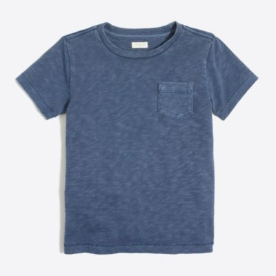 Kids' sunwashed garment-dyed pocket T-shirt factoryboys knits & t-shirts c