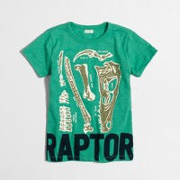 Boys' glow-in-the-dark raptor storybook T-shirt