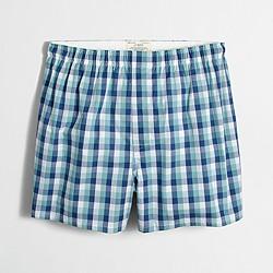 Multi-plaid boxers