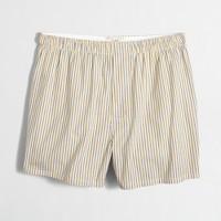 Indigo-striped boxers