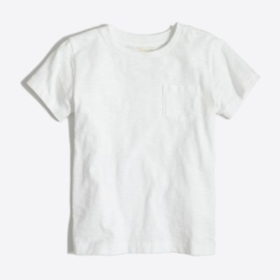 Kids' sunwashed pocket T-shirt factoryboys new arrivals c