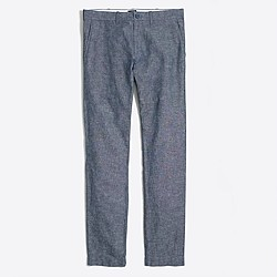 Driggs flecked chambray pant