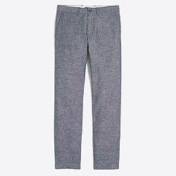 Sutton flecked chambray pant