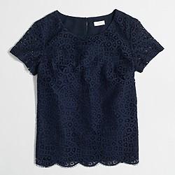 Factory lace T-shirt