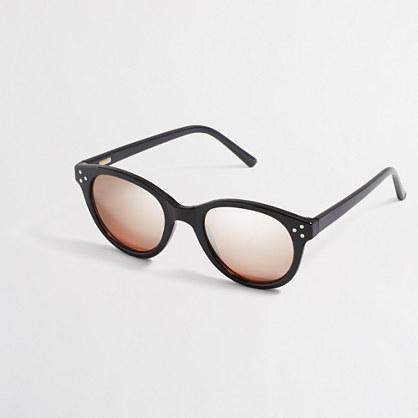 Mirrored-lense sunglasses