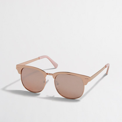 Girls' rose gold sunglasses