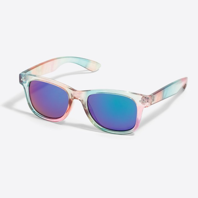 Girls' colorblock sunglasses