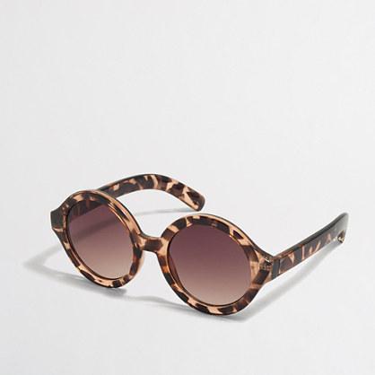 Girls' tortoise sunglasses