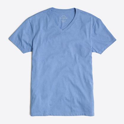 Tall slim heathered washed V-neck T-shirt