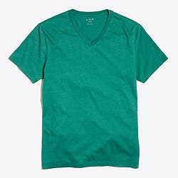 Heathered V-neck T-shirt