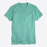 Heathered V-neck T-shirt