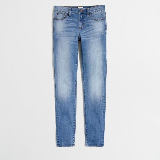 "Tall San Diego wash skinny jean with 30"" inseam"