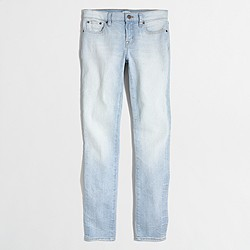 """Factory light Pacific wash skinny jean with 28"""" inseam"""