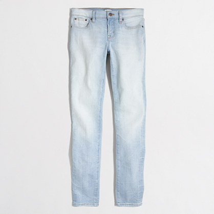"Light Pacific wash skinny jean with 28"" inseam"