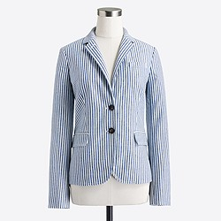 Factory striped blazer