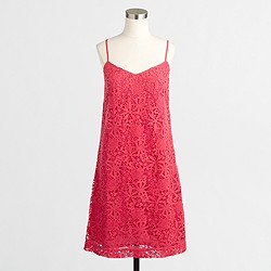 Factory lace slip dress