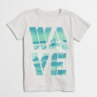 Boys' wave storybook T-shirt