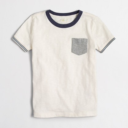 Boys' contrast T-shirt