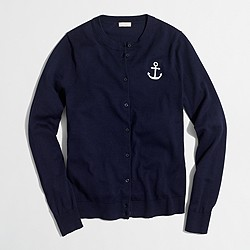 Factory anchor Caryn cardigan sweater