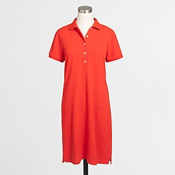 Factory polo shirtdress