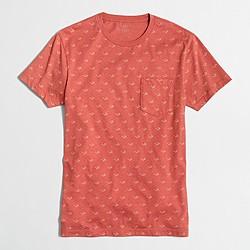 Factory slim glasses T-shirt