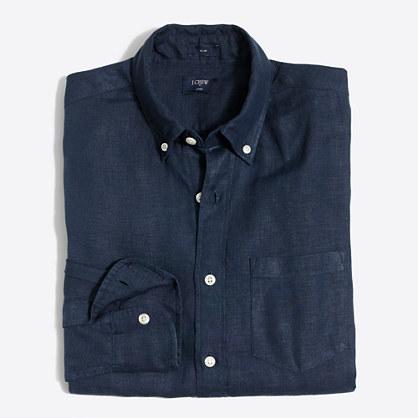 Tall linen shirt