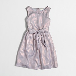 Factory girls' shimmer dress