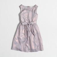 Girls' shimmer dress