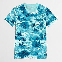 Factory slim beach T-shirt