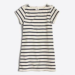 Factory girls' striped dress