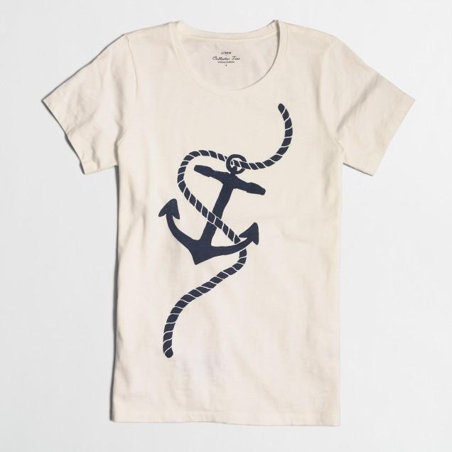 Anchor collector T-shirt
