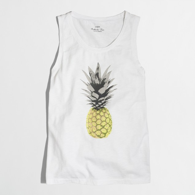 Pineapple collector tank top