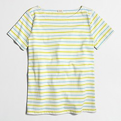 Factory ladder-striped T-shirt