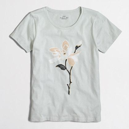 Flower collector T-shirt