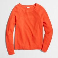 Linen-cotton beach sweater