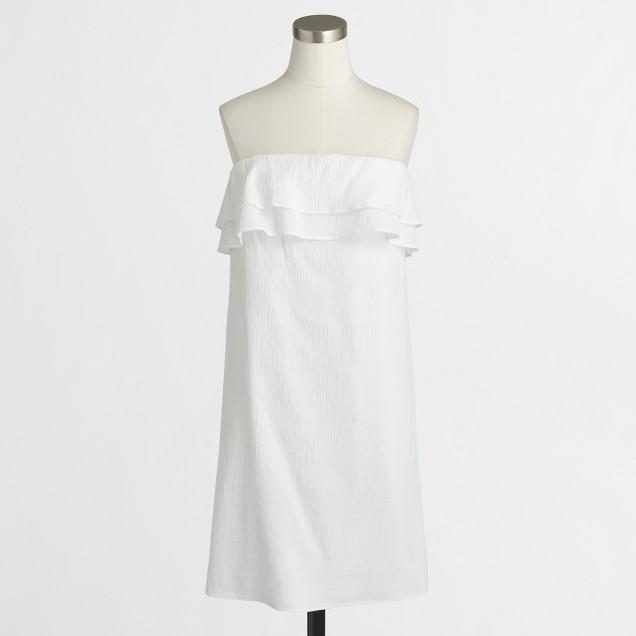 Ruffle gauze dress