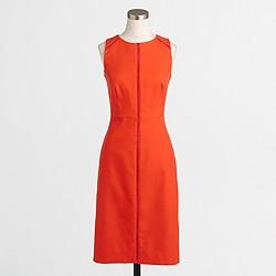 Factory ladder-stitch dress