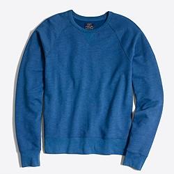 Factory lightweight twill crewneck sweatshirt