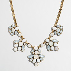 Factory crystal clusters necklace