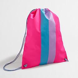 Factory girls' drawstring backpack