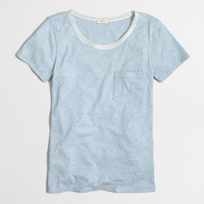 Lurex® trim pocket T-shirt