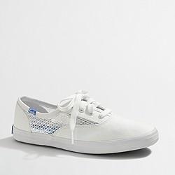 Keds® white mesh sneakers