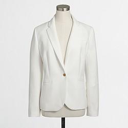 Factory drapey textured blazer